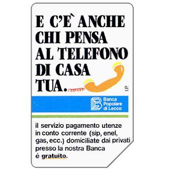 Phonecard for sale: Banca Popolare di Lecco, 30.06.94, L.10000