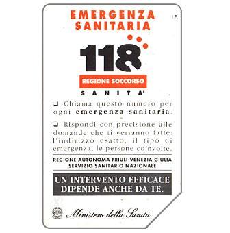 118 Emergenza sanitaria, 31.12.94, L.5000