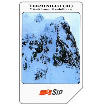 Phonecard for sale: Terminillo, vetta del monte Terminilluccio, 31.12.94, L.5000