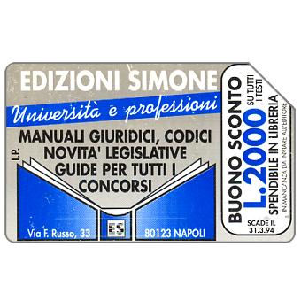 Edizioni Simone, Università e Professioni, 31.12.94, L.5000