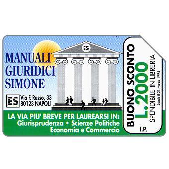 Edizioni Simone, Manuali Giuridici, 30.06.95, L.5000