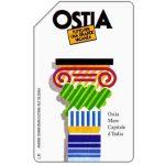 The Phonecard Shop: Ostia, 31.12.95, L.5000