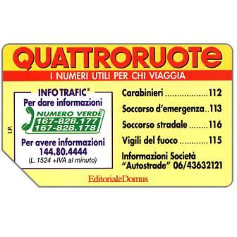 Quattroruote, 31.12.95, L.10000