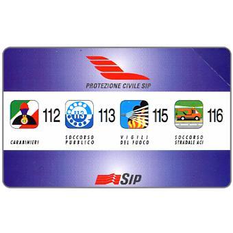 Protezione Civile Sip, 31.12.97, L.5000