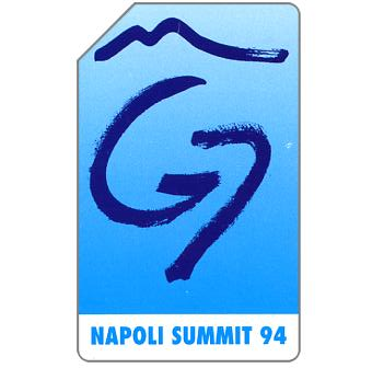 The Phonecard Shop: G7 Napoli Summit 94, 30.06.96, L.10000