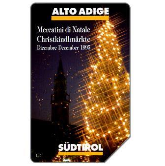Phonecard for sale: Mercatini di Natale, Alto Adige, 30.06.97, L.10000