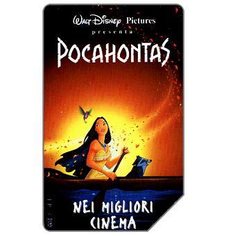 Phonecard for sale: Walt Disney Pocahontas, 30.06.97, L.10000