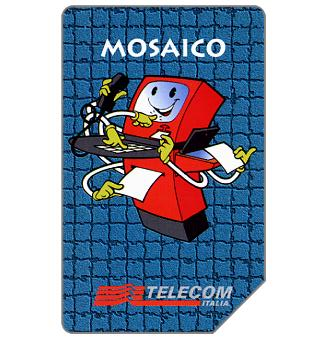 Phonecard for sale: Mosaico, 30.06.97, L.5000