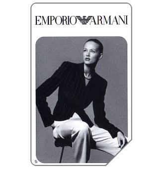 Phonecard for sale: Emporio Armani, 31.12.97, L.10000