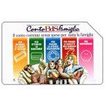 The Phonecard Shop: Conto BDS Famiglia, 31.12.98, L.10000
