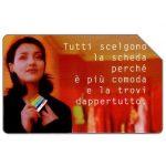 The Phonecard Shop: Tutti scelgono la scheda, 31.12.98, L.5000