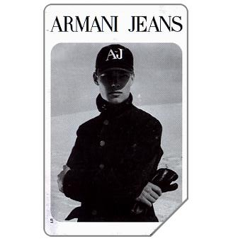 Phonecard for sale: Armani Jeans, 31.12.98, L.10000