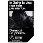 The Phonecard Shop: Zaire, 31.12.98, L.5000