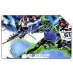 Phonecard for sale: Campionati Mondiali di sci - Sestriere 1997, 30.06.99, L.10000