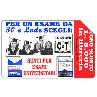Edizioni CxT, 30.06.99, L.5000