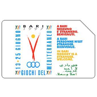 Bari '97, XIII Giochi del Mediterraneo, 30.06.99, L.10000