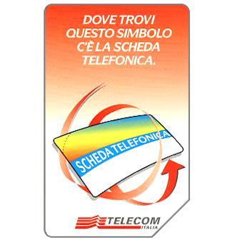 Scheda Telefonica, 31.12.99, L.5000