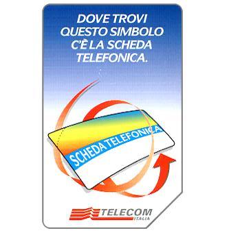 Scheda Telefonica, 31.12.99, L.10000