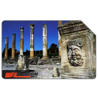 The Phonecard Shop: Linee d'Italia, Aquileia, 31.12.99, L.10000