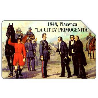 Phonecard for sale: 11° Convegno Città di Piacenza, 30.06.2000, L.5000