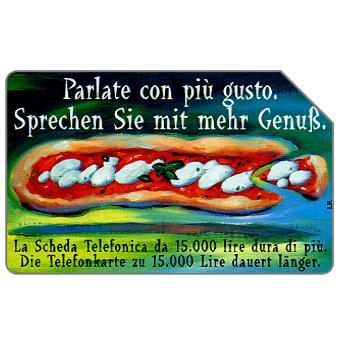 Phonecard for sale: Parlate con più gusto, Alto Adige, 30.06.2000, L.5000