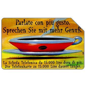Phonecard for sale: Parlate con più gusto, Alto Adige, 30.06.2000, L.10000