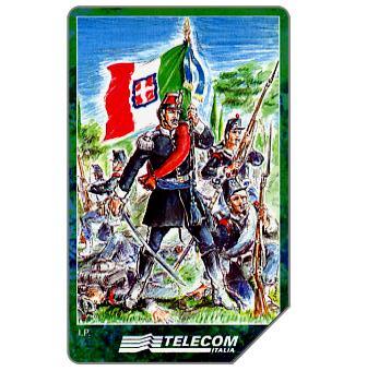 Phonecard for sale: Veronafil, 150° della 1a Guerra d'Indipendenza, 30.06.2000, L.5000
