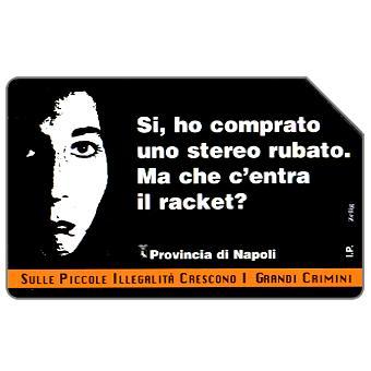 Phonecard for sale: Campagna contro l'illegalità diffusa, 30.06.2000, L.10000