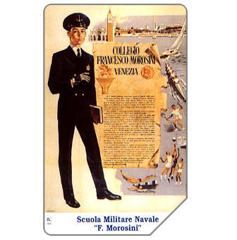 """Phonecard for sale: Scuola Militare Navale """"F.Morosini"""", 30.06.2000, L.10000"""