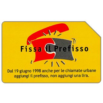 Phonecard for sale: Fissa il prefisso, 30.06.2000, L.5000