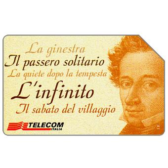 Bicentenario di Giacomo Leopardi, 30.06.2000, L.10000