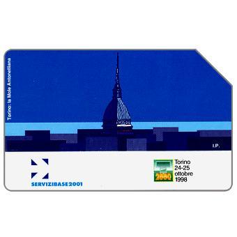 Phonecard for sale: Servizibase Torino, 31.12.2000, L.10000