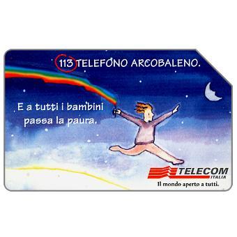 Phonecard for sale: Telefono Arcobaleno, 31.12.2000, L.5000