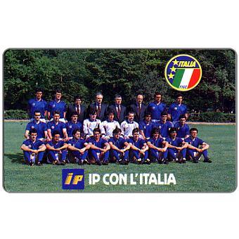 Phonecard for sale: IP con l'Italia, Omaggio (complimentary)