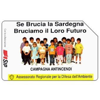 Phonecard for sale: Sardegna, Campagna Antincendi, Omaggio (complimentary)