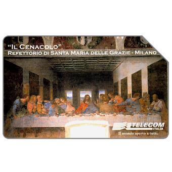 Phonecard for sale: Il Cenacolo, 31.12.2001, L.10000