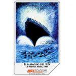 The Phonecard Shop: Il passaggio del Rex, 31.12.2001, L.5000