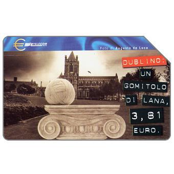 Capitali dell'Euro, Dublino, 31.12.2001, L.10000
