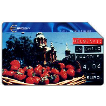 Phonecard for sale: Capitali dell'Euro, Helsinki, 31.12.2001, L.5000