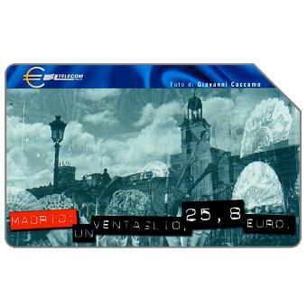 Capitali dell'Euro, Madrid, 31.12.2001, L.10000