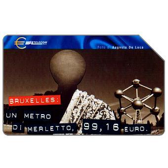 Capitali dell'Euro, Bruxelles, 30.06.2002, L.5000
