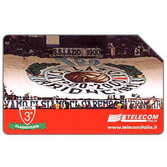 Phonecard for sale: Tifoseria Lazio, 31.12.2002, L.5000