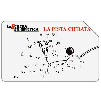 The Phonecard Shop: La Scheda Enigmistica, 31.12.2002, L.5000