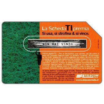 The Phonecard Shop: La scheda ti premia, 31.12.2002, L.5000
