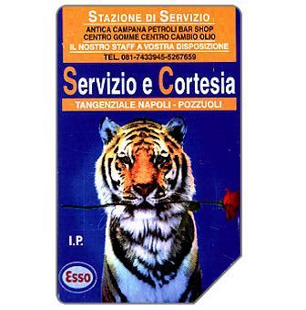 Phonecard for sale: Esso, Servizio e Cortesia, 30.06.97, L.2000
