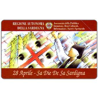 Phonecard for sale: Sa Die De Sa Sardigna, 30.06.98, L.2000