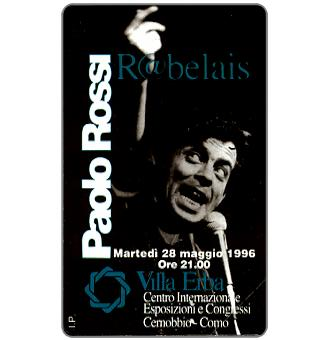 Phonecard for sale: Paolo Rossi - Rabelais, 30.06.98, L.2000