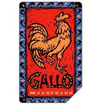 Zodiaco Cinese, Gallo, 31.12.2002, L.5000