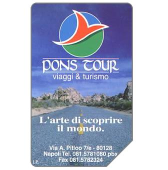 Phonecard for sale: Pons Tour, 30.06.99, L.5000