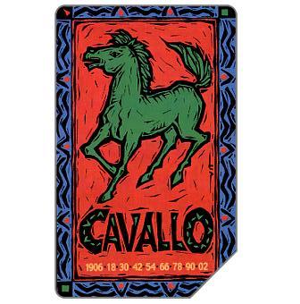 Zodiaco Cinese, Cavallo, 31.12.2002, L.10000